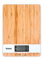 Весы кух.MAGIO MG-693 5 кг/электр./ бамбук.