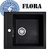Кухонная мойка Cora - Flora Black