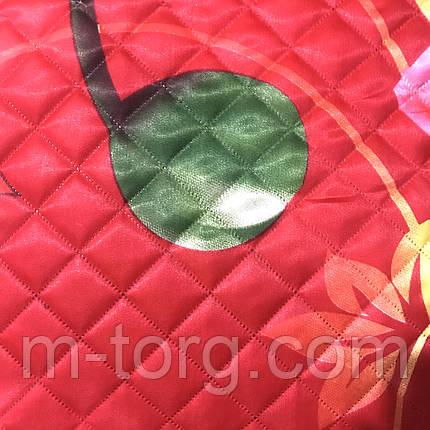 Одеяло летнее атласное двуспальный размер 175/205, фото 2