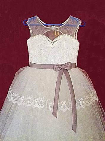 1f783859b15 Нарядное бальное платье на девочку 10 лет с пышной фатиновой юбкой ...