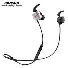 Бездротові навушники (гарнітура) Bluedio TE Black, фото 3
