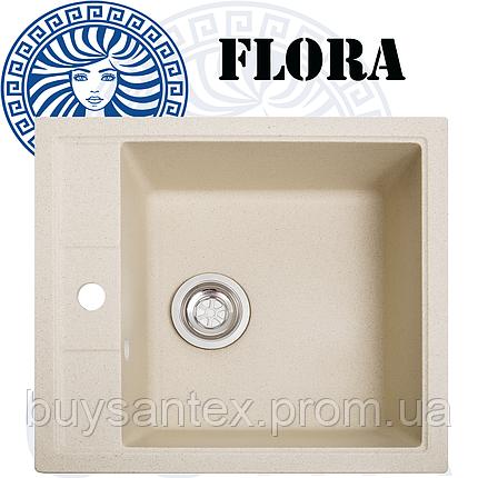 Кухонная мойка Cora - Flora Pale Yellow, фото 2