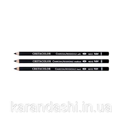 Карандаш для рисунка, Угольный твердый, Cretacolor 46003, фото 2