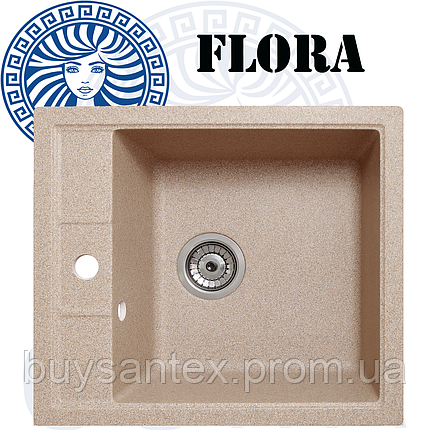 Кухонная мойка Cora - Flora Sand, фото 2