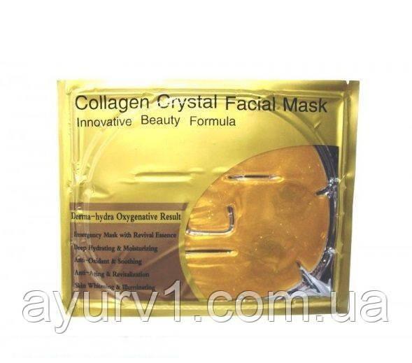 Патчи /Маска для лица Collagen Crystal Facial Mask Коллагеновая маска 60 гр.