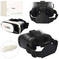Шлем MK 0802-1 (30шт) 3D очки, VR BOX, пульт для игры-на бат,поключ.к телефону,в кор-ке,20-11-14см