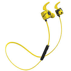 Бездротові навушники (гарнітура) Bluedio TE Yellow