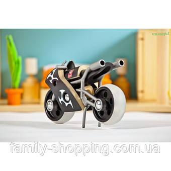 "Деревянная игрушка мотоцикл из бамбука ""E-Superbike"""