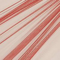 Тюль сетка микро Greek красный
