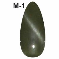 CGP-07 Магнитный гель-лак M1 (уп-6шт) 7,3ml Кошачий глаз, зеленый