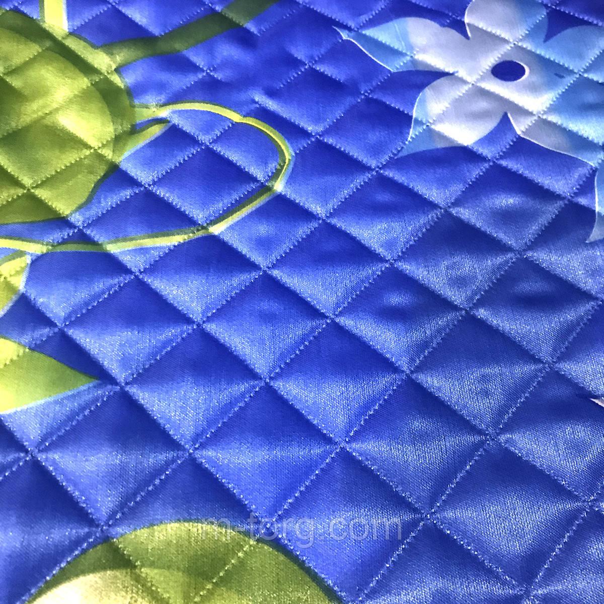 Одеяло летнее атласное евро размер 195/205