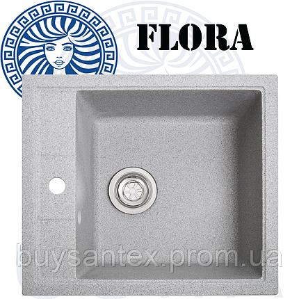 Кухонная мойка Cora - Flora Grey, фото 2