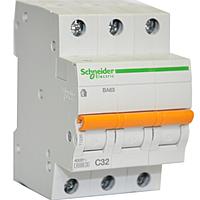 Автоматический выключатель Schneider Electric ВА63 3P 25A C 11225