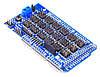 Mega Sensor Shield V2.0 плата расширения шилд для Arduino Mega 2560, фото 3