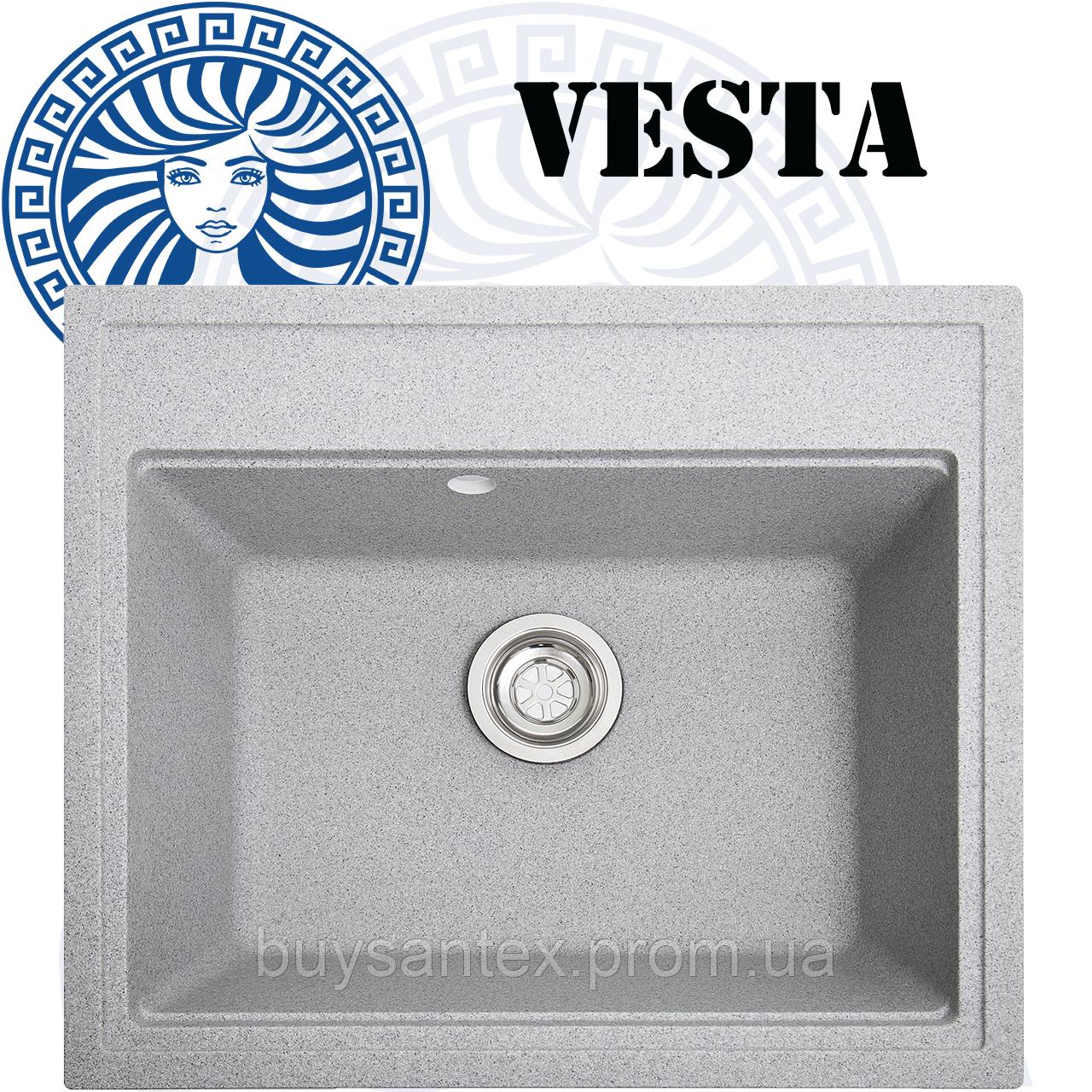 Кухонная мойка Cora - Vesta Grey