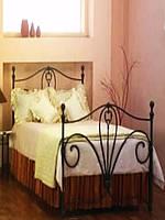 Кровать кованая 66