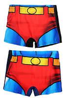 {есть:9 лет,7 лет,8 лет}  Плавки для мальчиков Superman, 6-12 лет.