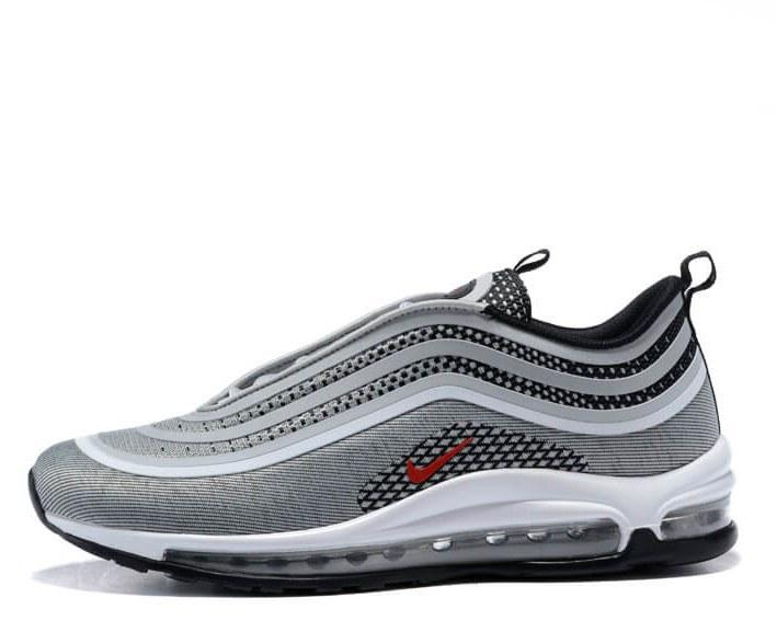 cd165905 Кроссовки Найк Nike Air Max 97 Ultra Grey-Metalic (Арт. 2548), цена ...