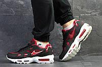 Мужские кроссовки Nike air max- 95-красные-Пресскожа,сетка,подошва пена(силиконовые подушки), размеры:41-45 , фото 1