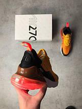 Мужские кроссовки Nike Air Max 270 Orange, фото 3