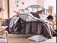 Кровать кованая 72