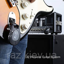 Радиосистема гитарная цифровая XVIVE U2 Black, фото 2