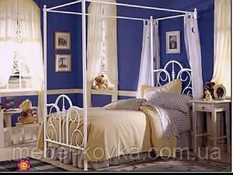 Кровать кованая 70