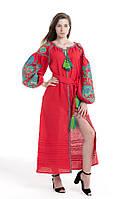 Сукня вишита Gua Дерево Життя L червона (1852-L), фото 1
