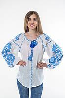 Блуза вишита Gua Бохо S біла (1101-S), фото 1
