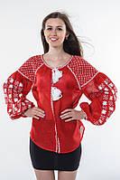 Блуза вишита Gua Зоряна ніч S червона (1201-S), фото 1
