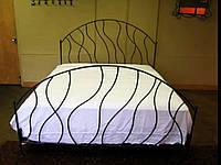 Кровать кованая 76