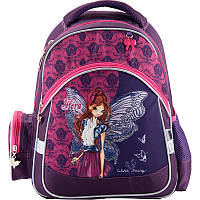 Рюкзак школьный Kite Winx Fairy couture W18-521S; рост 130-145 см