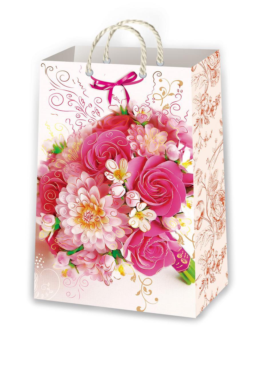 Подарочные пакеты для девушек размер 38 х 24 см (10 шт./уп ...