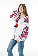 Блуза вишита Gua Птахи XL біла (3103-XL), фото 1