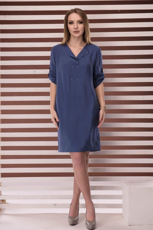 Жіноче плаття Джек Лондон модель 6472 синє