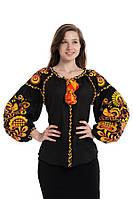 Блуза вишита Gua Дерево Життя M чорна (3201-M), фото 1
