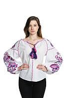 Блуза вишита Gua Дерево Життя XL біла (3202-XL), фото 1