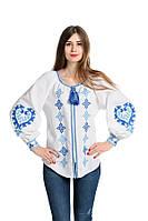Блуза вишита Gua Серце S біла (1151-S), фото 1