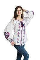 Блуза вишита Gua Серце S біла (1152-S), фото 1