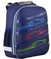 Ранець шкільний жорстко-каркасний для хлопчика H-12 Car, 38*29*15 , YES, фото 1