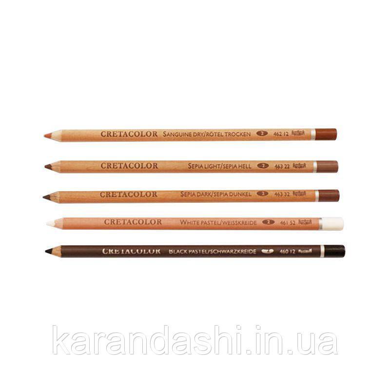 Карандаш для рисунка, Сангина средняя, Cretacolor 46212