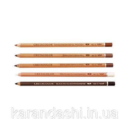Карандаш для рисунка, Сангина средняя, Cretacolor 46212, фото 2