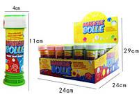 Мильні бульбашки 9005 2 кольори 36 шт. в кор. 24*12*24 см