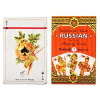 Коллекционные карты Piatnik - Golden de Luxe Russian