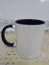 Чашка 340 мл чорна в нутрі