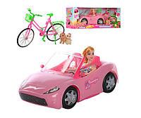 Машина с куклой K877-30E велосипед