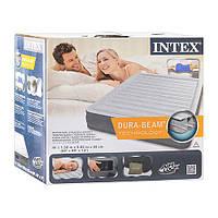 Ліжко надувний Intex 67770 з вбудованим електронасосом, фото 1