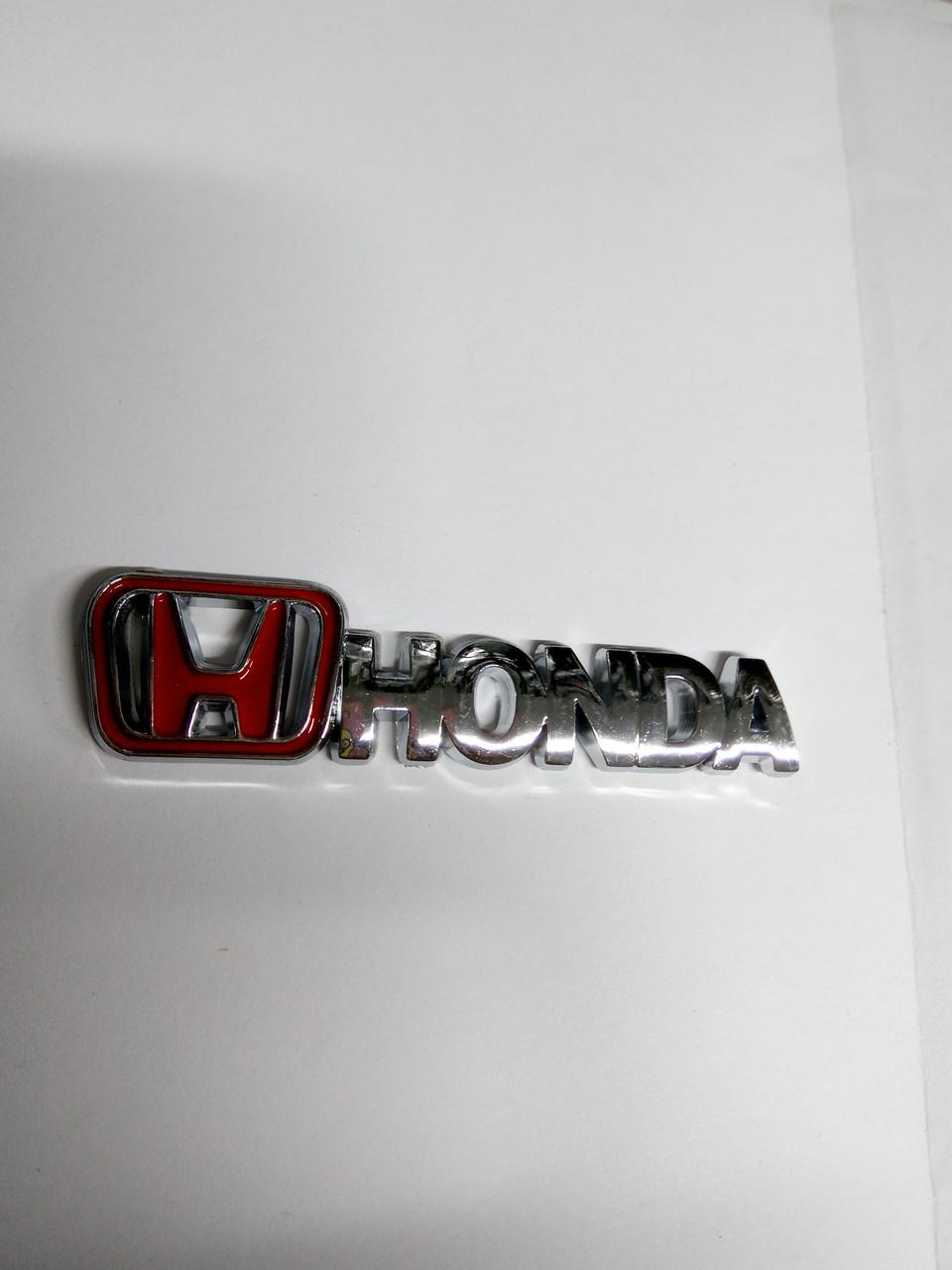 Надпись HONDA  85х20 мм