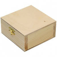 Ящик деревянная с замком, 11  5  8 см, ROSA Talent