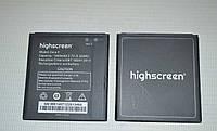 Оригинальный аккумулятор (АКБ, батарея) для Highscreen Zera F (Rev.S) 1600mAh
